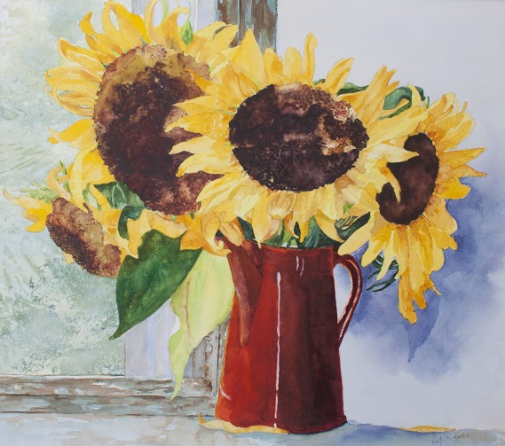 MaryBurke_Sunflowers