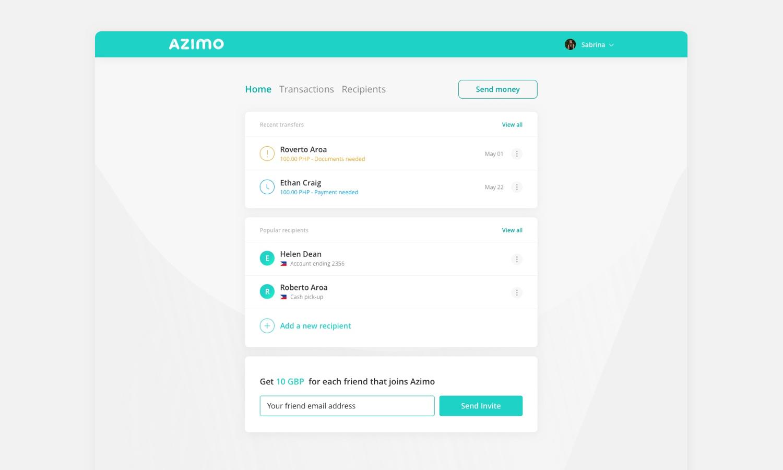 Desktop Dashboard - Domingo Widen