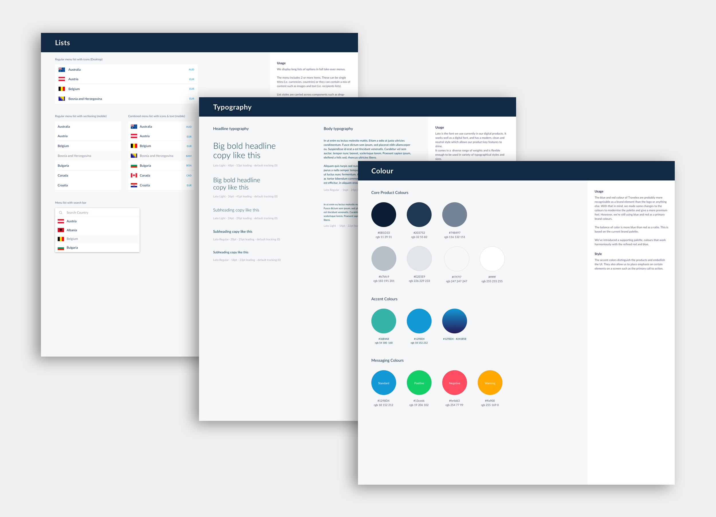 UI kit library - Domingo Widen
