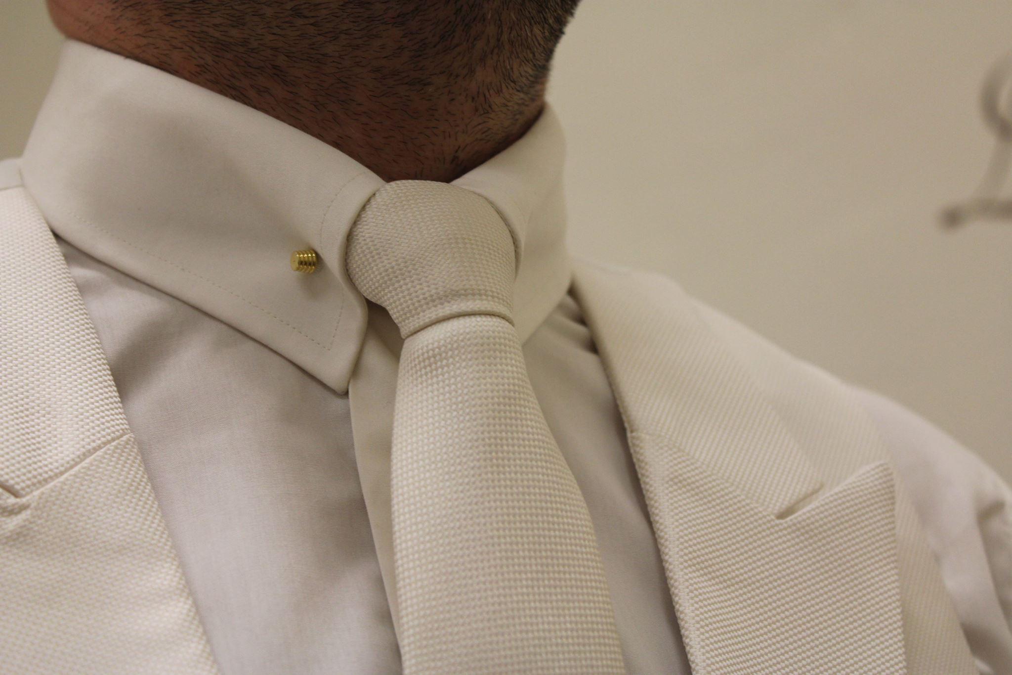bespoke groom shirt in kent
