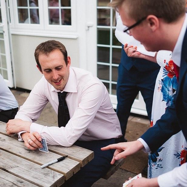 george cole wedding magician