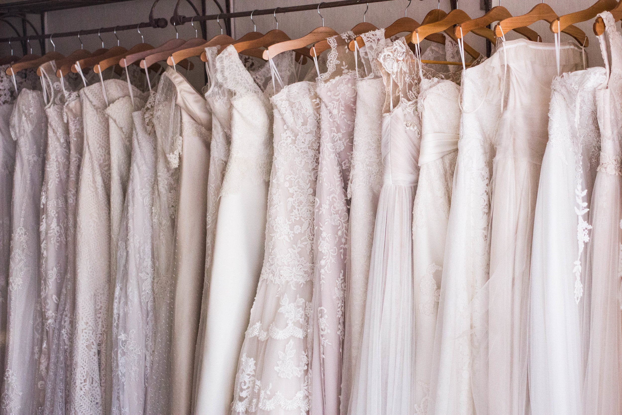 WEDDING DRESSES - Your wedding dress should be timeless & unique, let us find you the bridal of your dreams.
