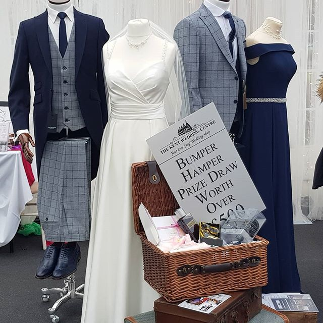 At Bluewater tomorrow win £500.00 on The Kent Wedding Centre stand. @thekentweddingcompany #bride#groom #bridesmaids #vodka #artist #lego #vidiography #celebrants #flowers #dresser