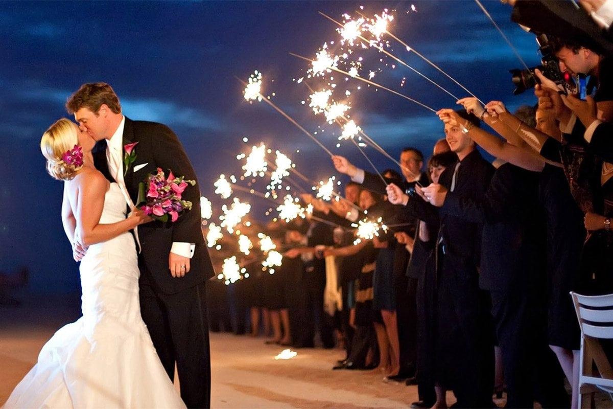 luxury wedding details last dance