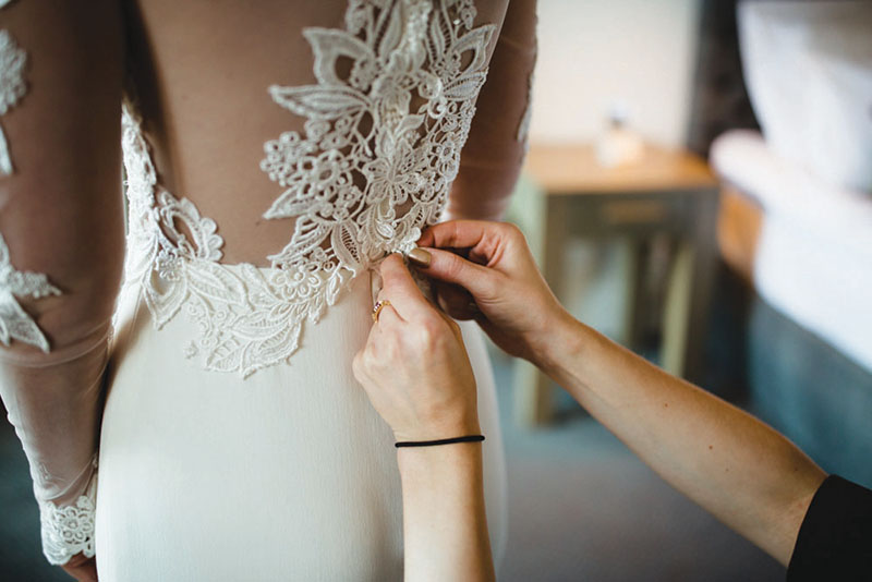 WEDDING DRESS ALTERATIONS - Transform a vintage bridal or make your wedding dress fit like a glove with our expert wedding dress alterations in Kent.