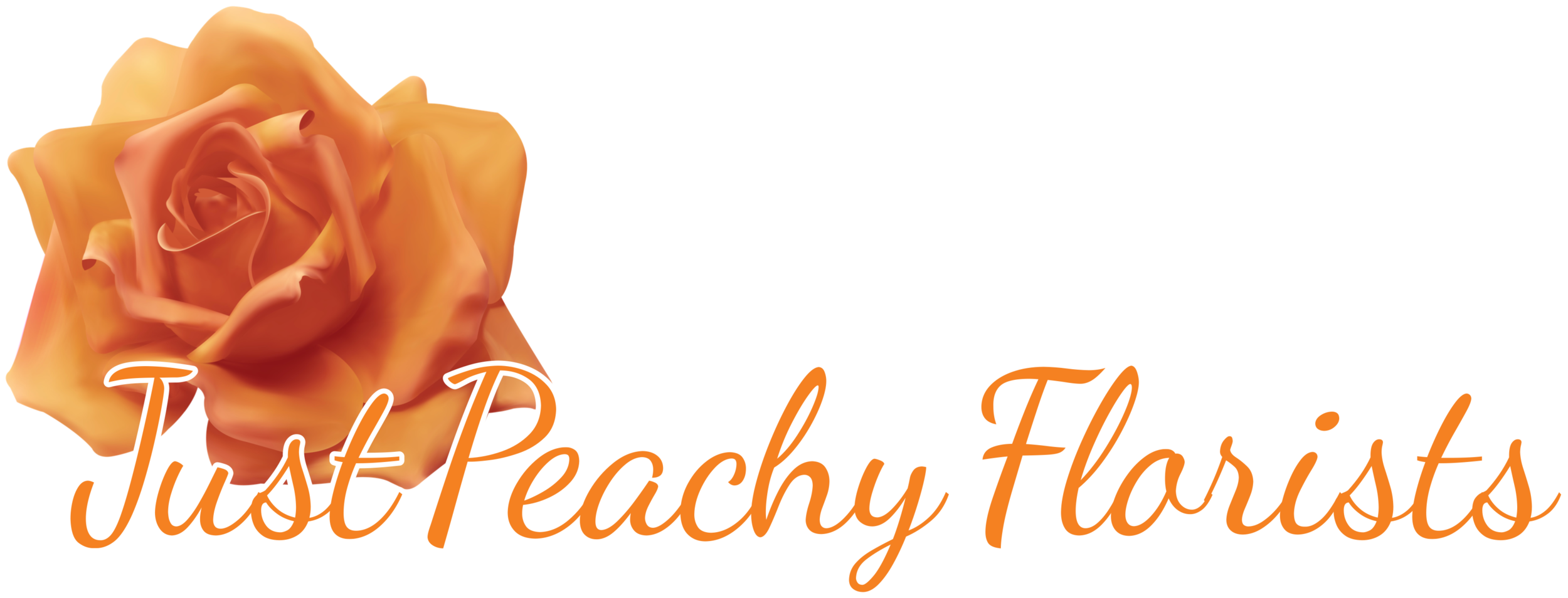Just Peachy Florists Logo.png