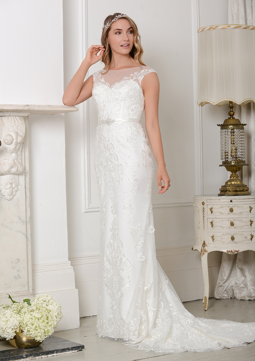 f7ddd928beaf ... featuring a breathtaking and diverse range of wedding dresses to suit  every bride. Created with the latest trends in mind and using ornate  embroidery ...