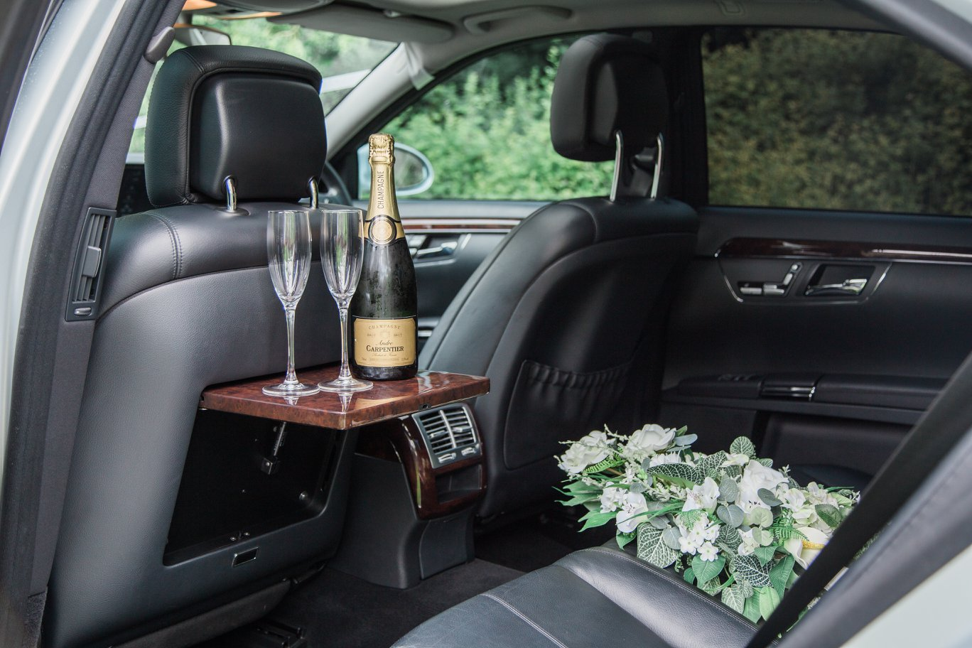 wedding car in kent