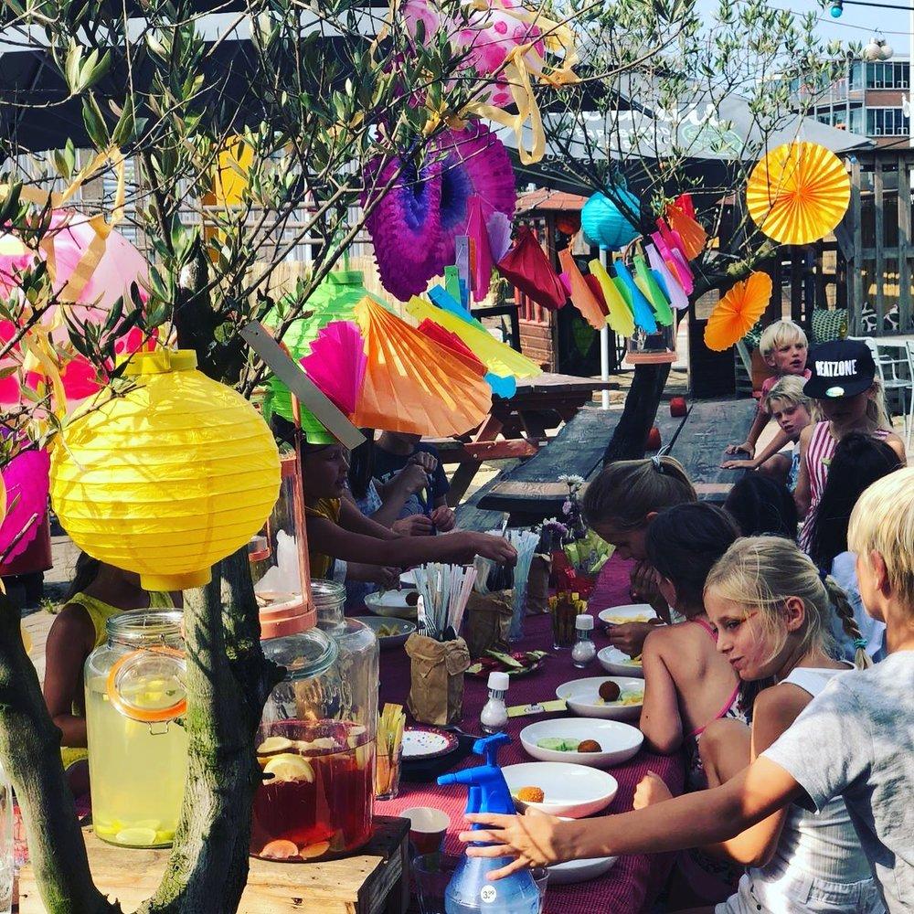 Kinderfeestjes bij Atelier in Amsterdam