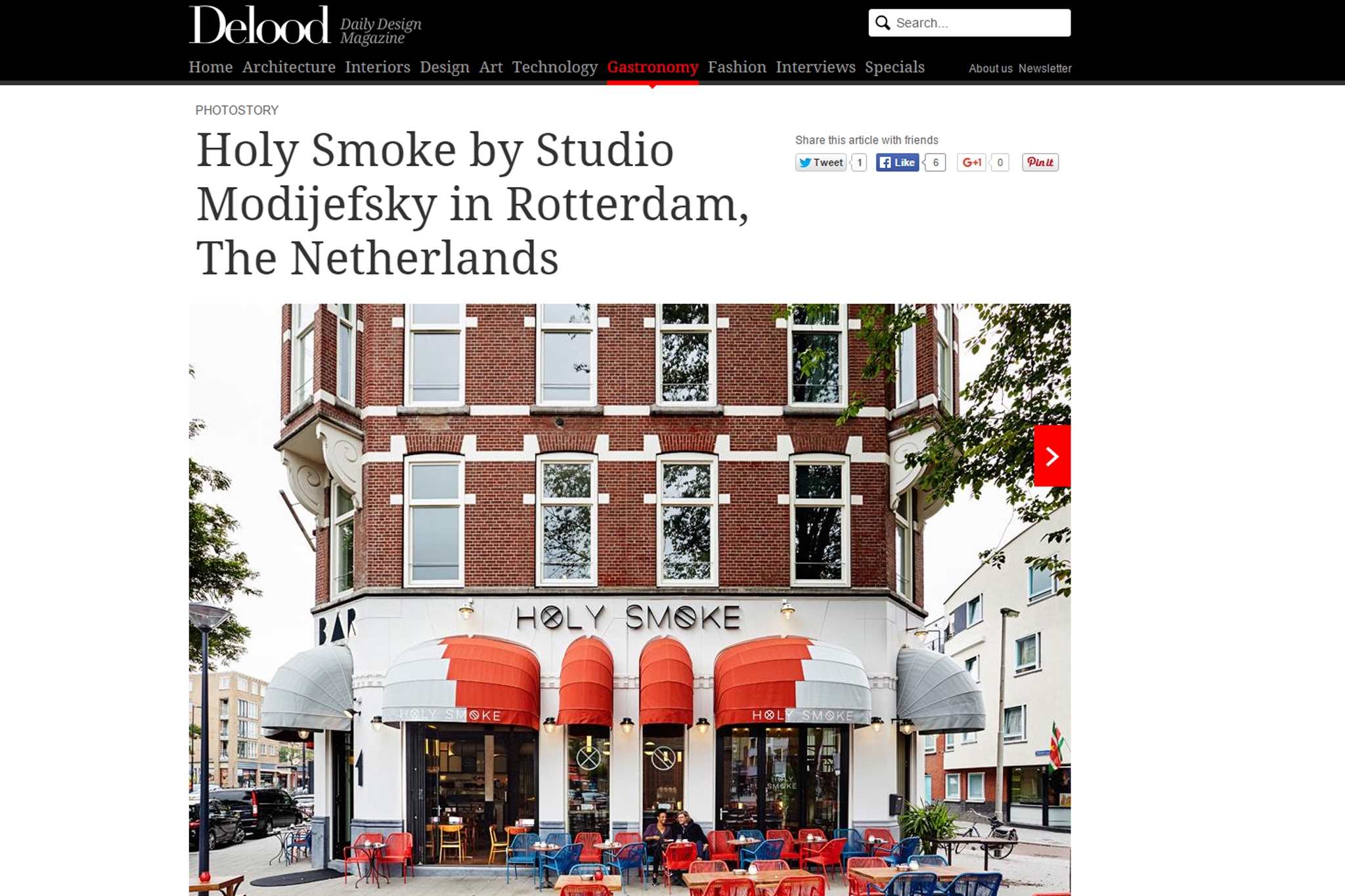 Holy Smoke by Studio Modijefsky on Delood