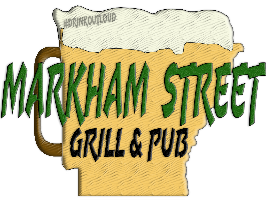 Markham Street continue to be Arkansas' only place to #DrinkOutLoud.  Tell your friends what they are missing.