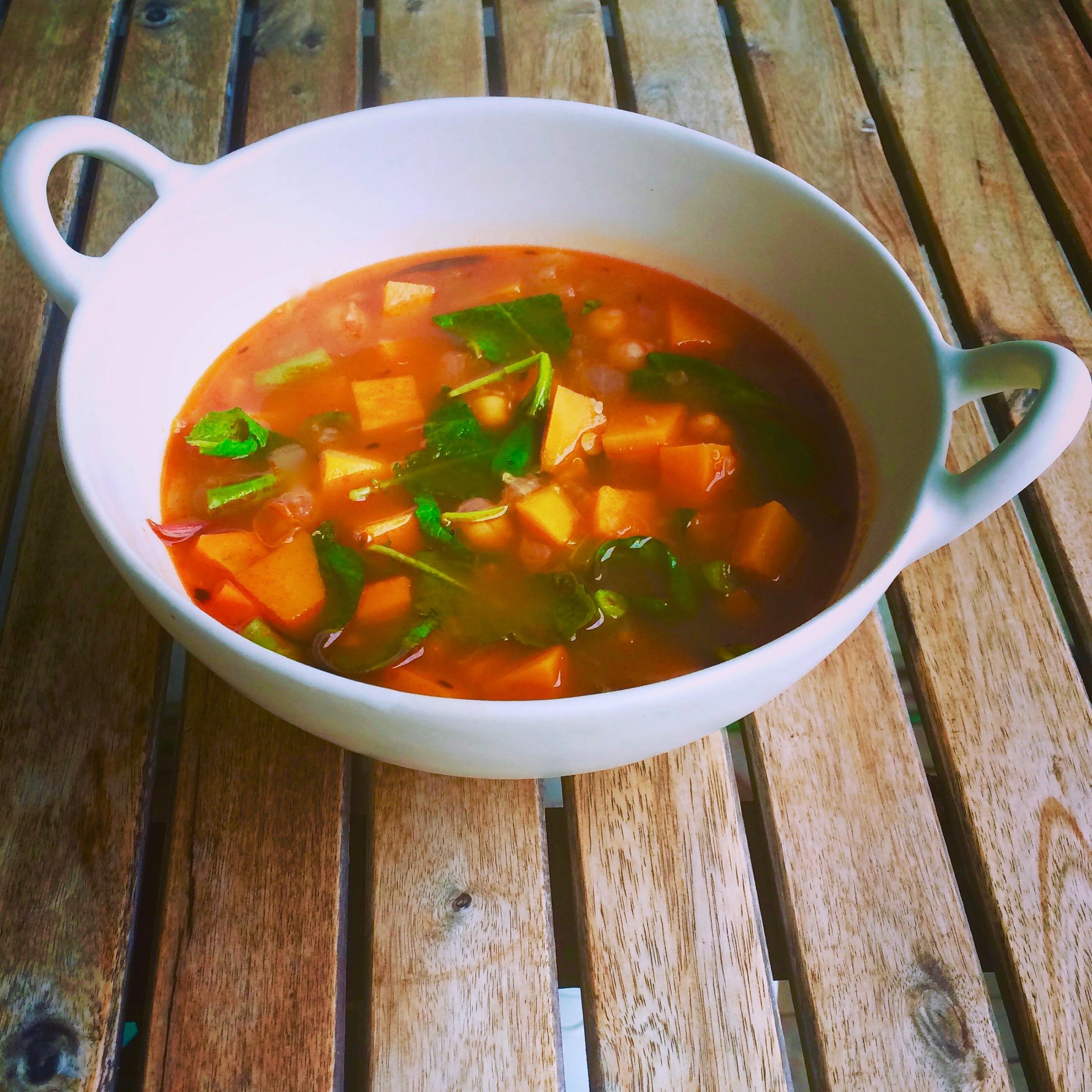 Detox Soup with Quinoa