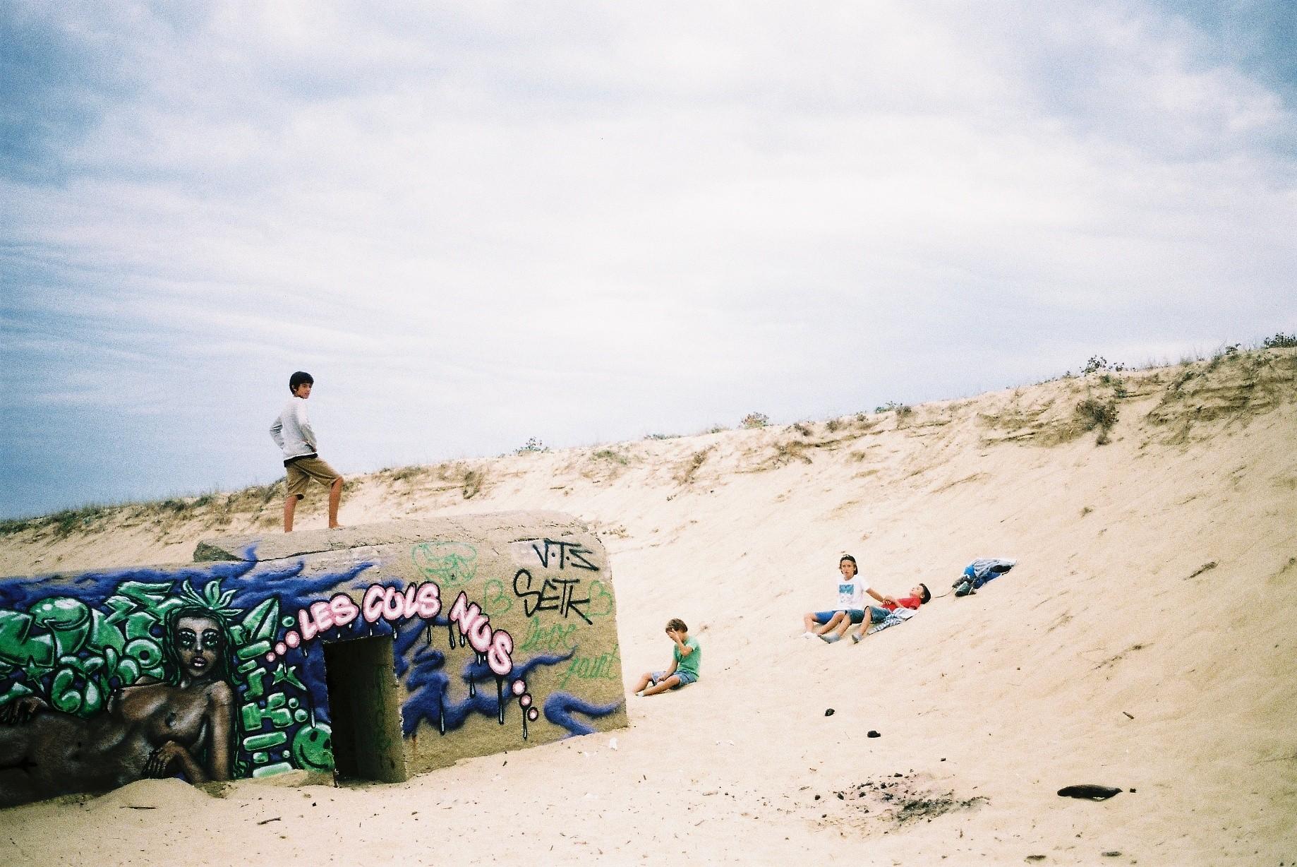 The beach gang