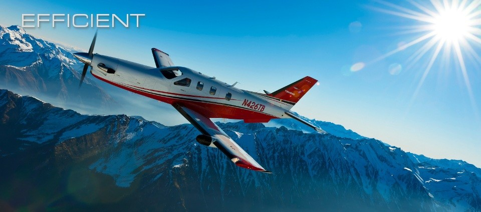 The Daher TBM-850 is the most efficient way to fly fast