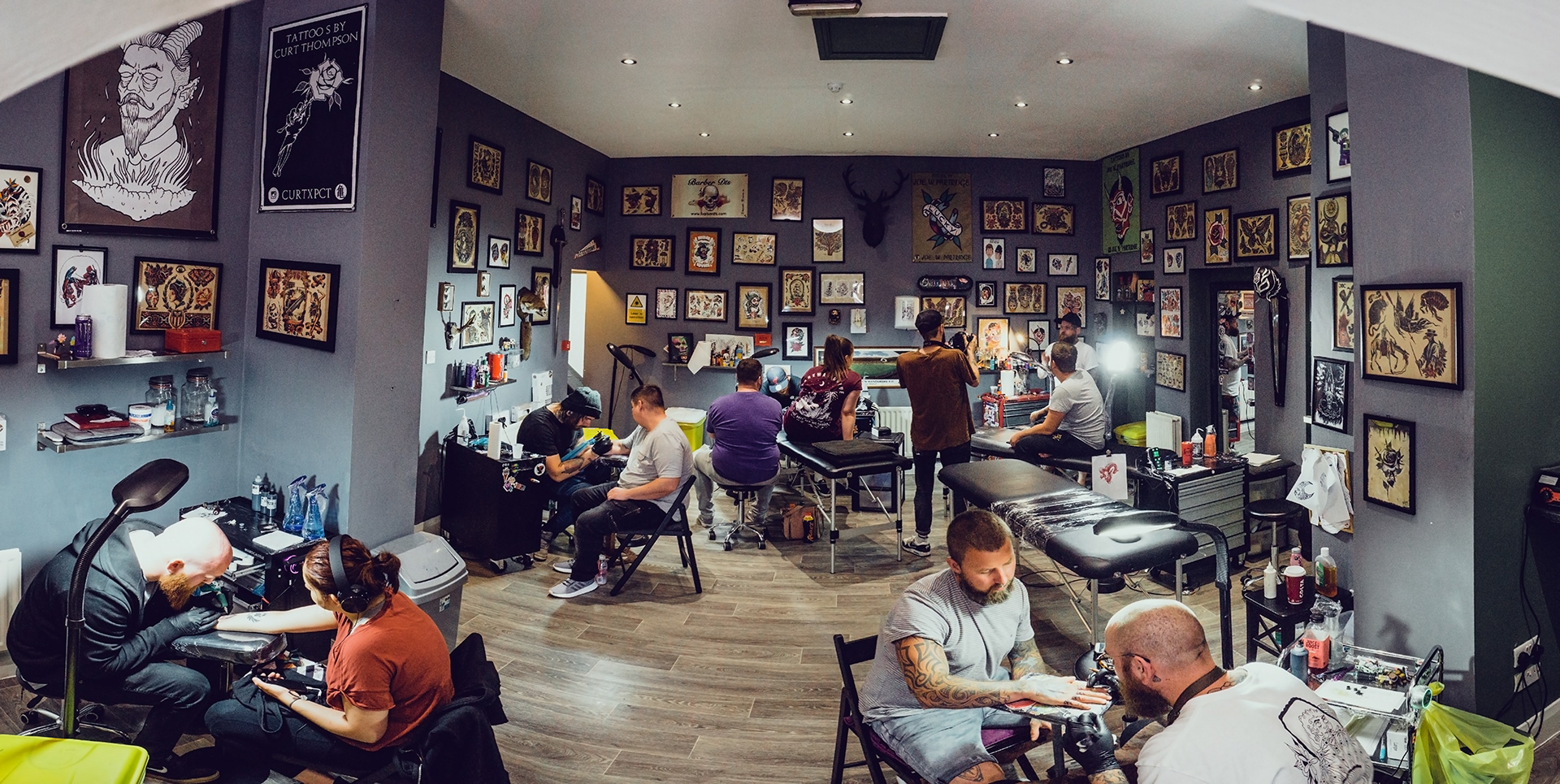 Contact Us - To book an appointment or to discuss your next tattoo please don't hesitate to contact us using the form on the right. Alternatively feel free to give us a bell during opening hours, hit us up on Facebook, or drop in to the studio for a chat!