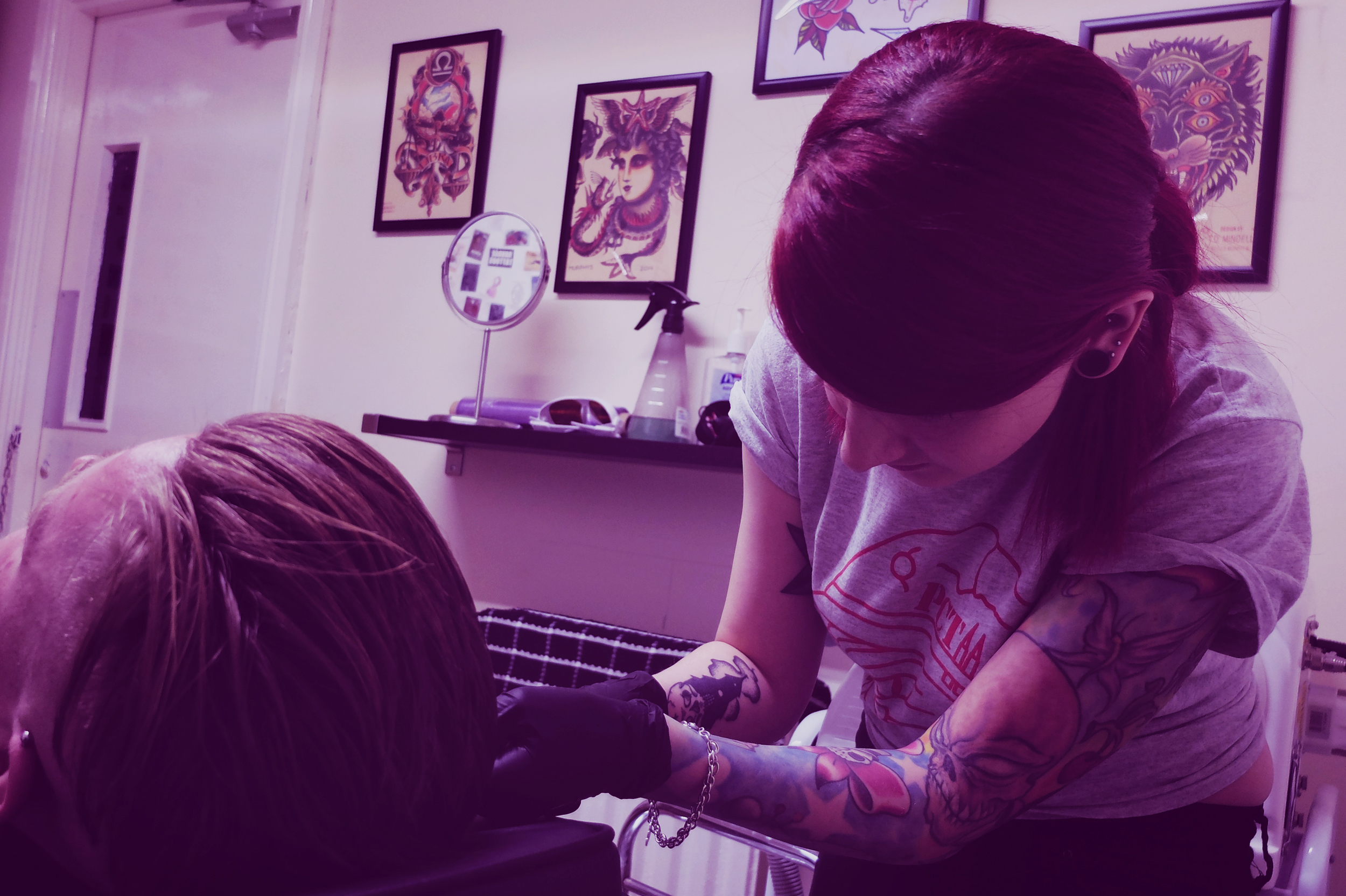 Pixie Piercing and Cosmetic Tattooing - Pixie is our resident piercer and cosmetic tattooer here at Panther Crew. For more information head over to her website at www.pixiecosmetics.co.uk, find her on facebook, or drop by the shop!Panther Crew Team -
