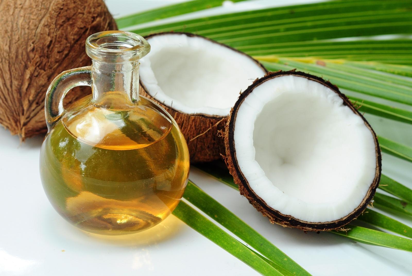 Coconut oil for alternative therapy