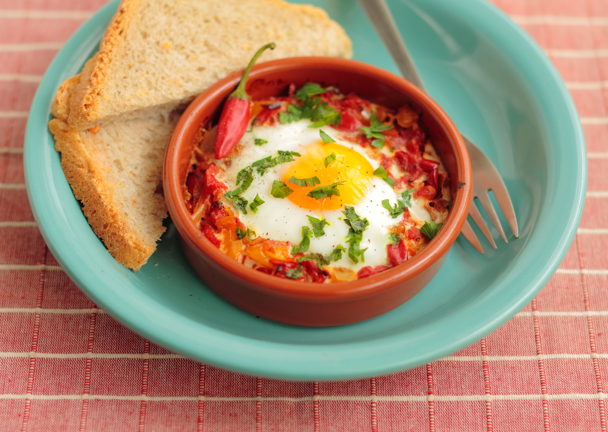 Online Personal Trainer Recipes - Aztec Baked Eggs.jpg