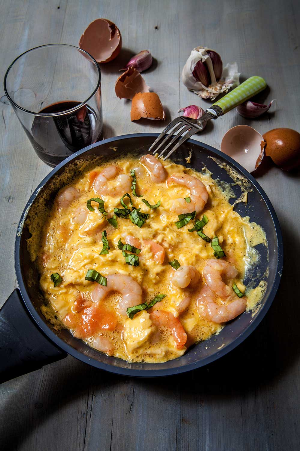 Online Personal Trainer Breakfast Recipes - Scrambled Prawns.jpg