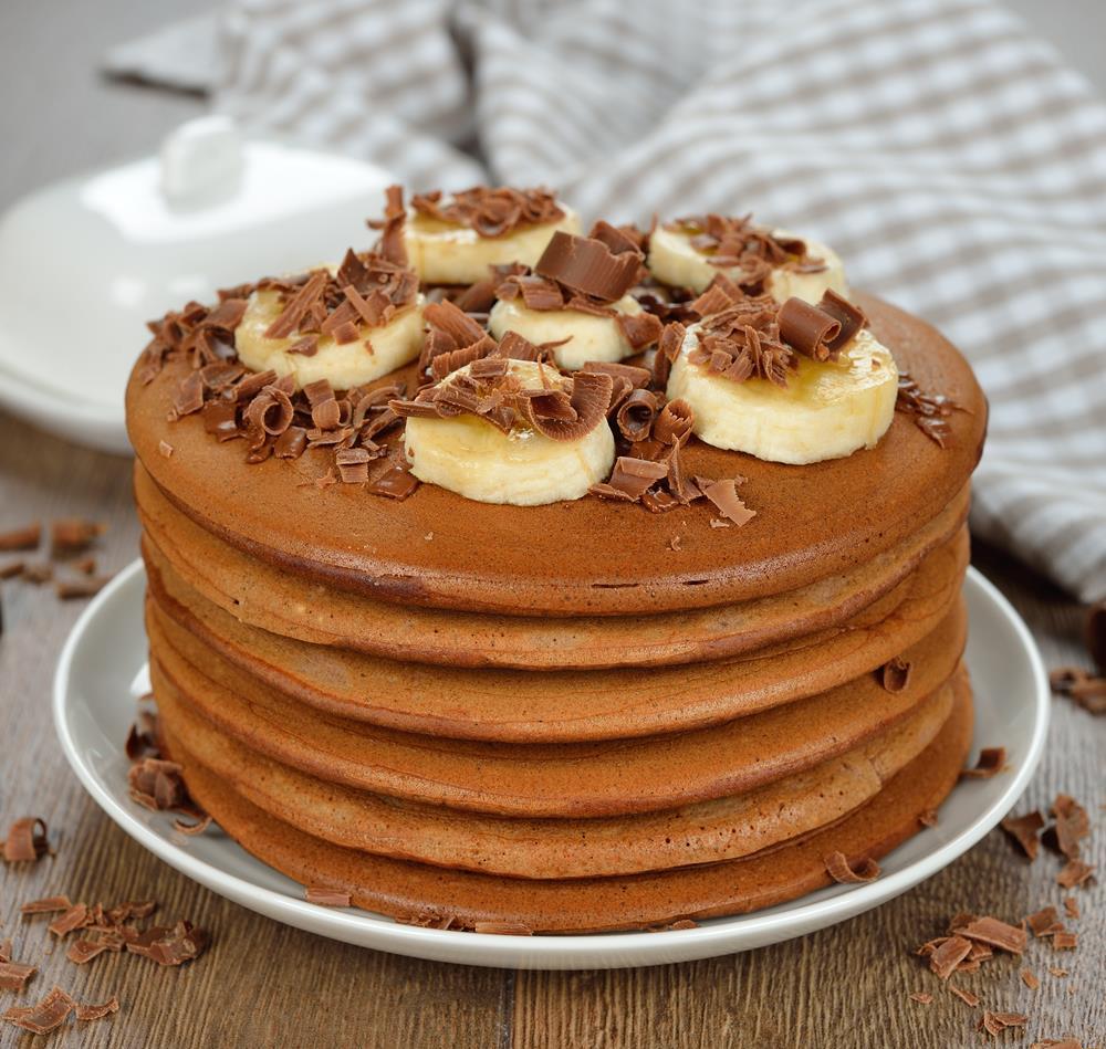 Online Personal Trainer Breakfast Recipes - Chocolate Protein Pancakes.jpg
