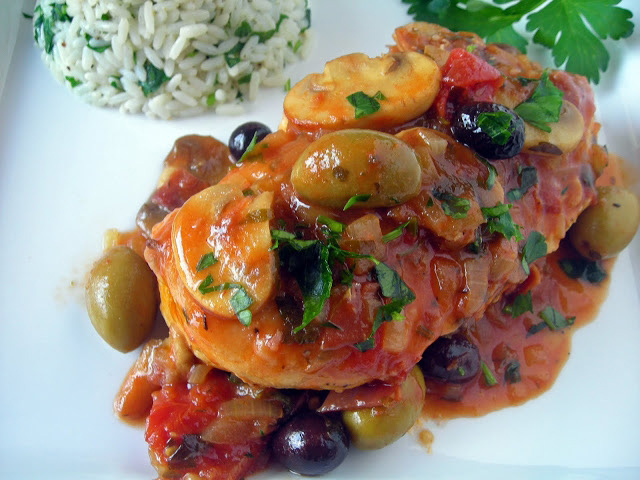 Online Personal Trainer Main Meal Recipes -Chicken Marengo.jpg
