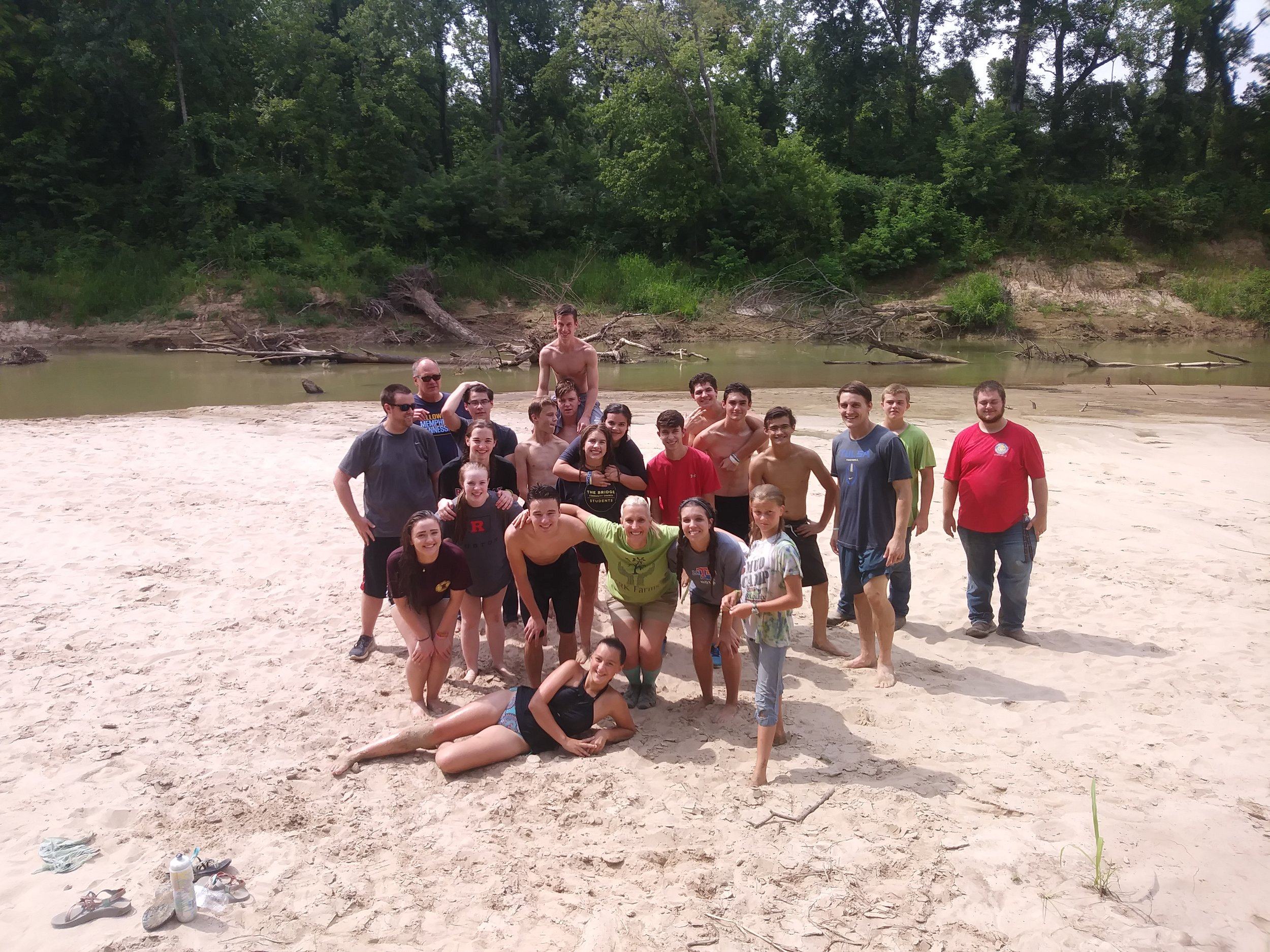 Oh yeah - and there's a beach!   ARK Farms Beach is a gem in North Memphis.     Come to work, stay to play in the sand!