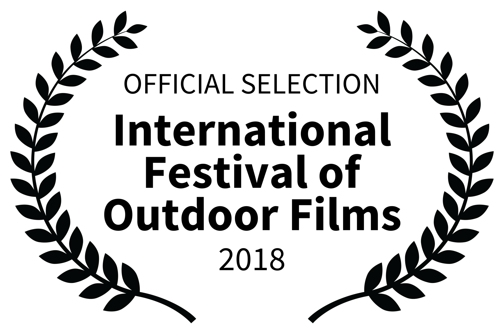 OFFICIAL SELECTION - International Festival of Outdoor Films - 2018.png