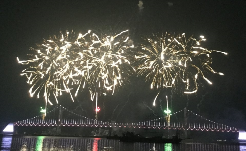 Busan Firework Festival 2015