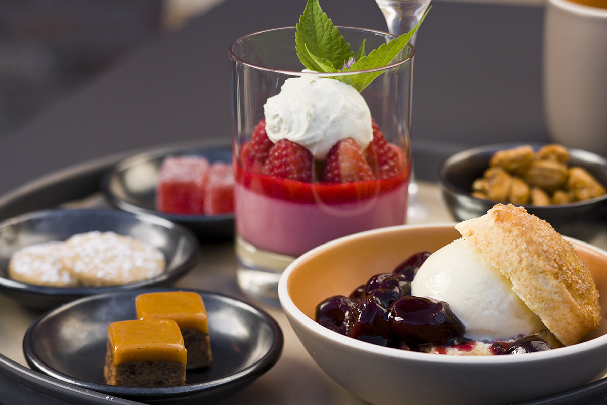 Poppy Restaurant Dessert Thali