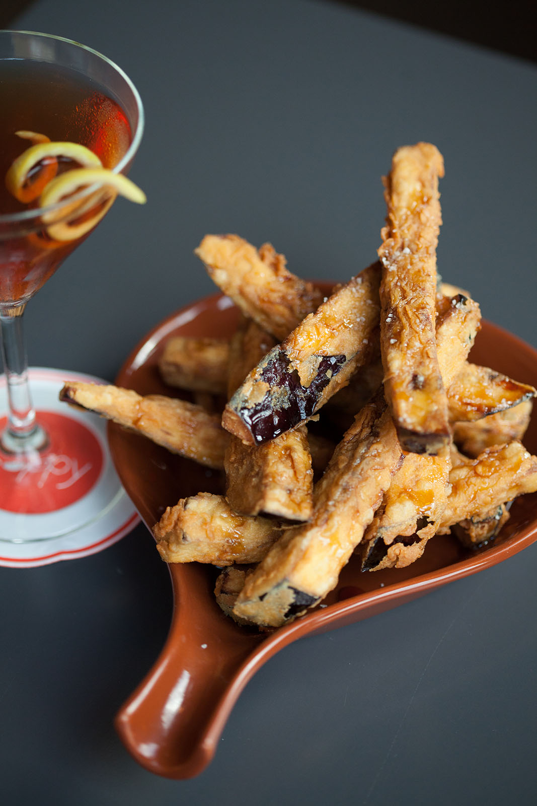 Poppy Restaurant Eggplant Fries