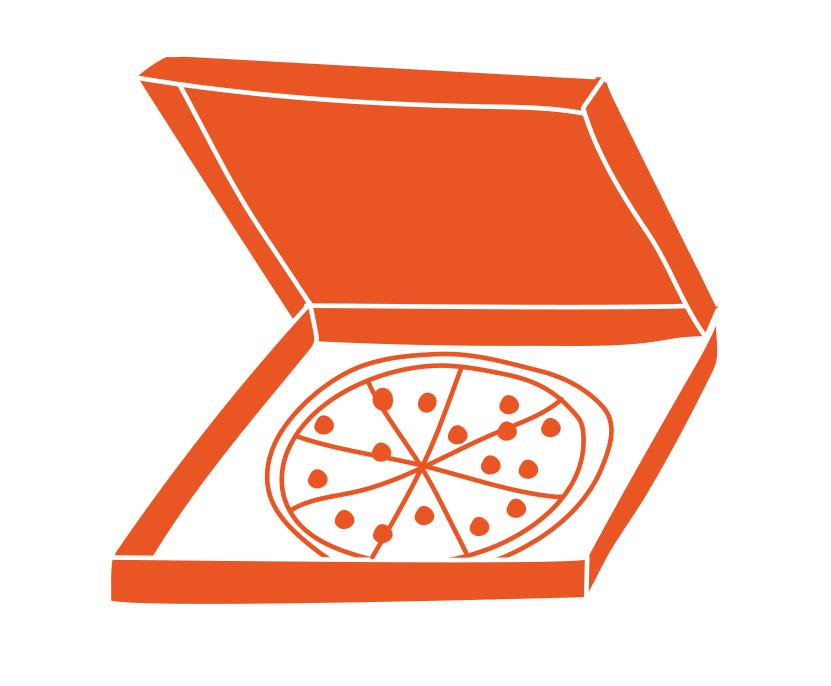 20. pizza delivered  (sharon l)