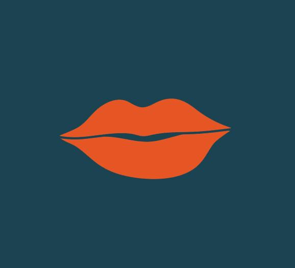 61. wearing red lipstick   (sara l)