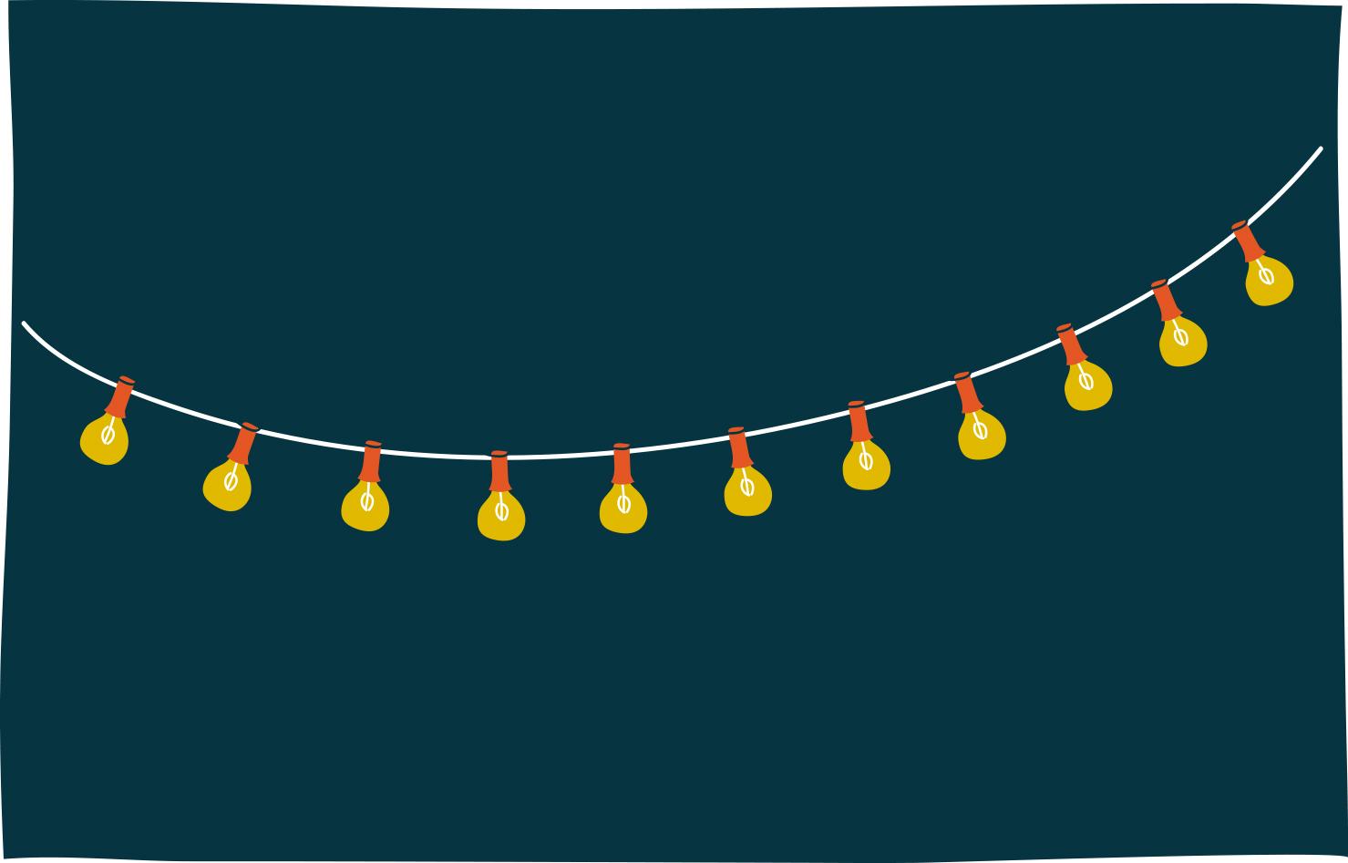 82. string lights