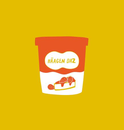 29. strawberry cheescake   haagen    daz ice cream (ashley g)