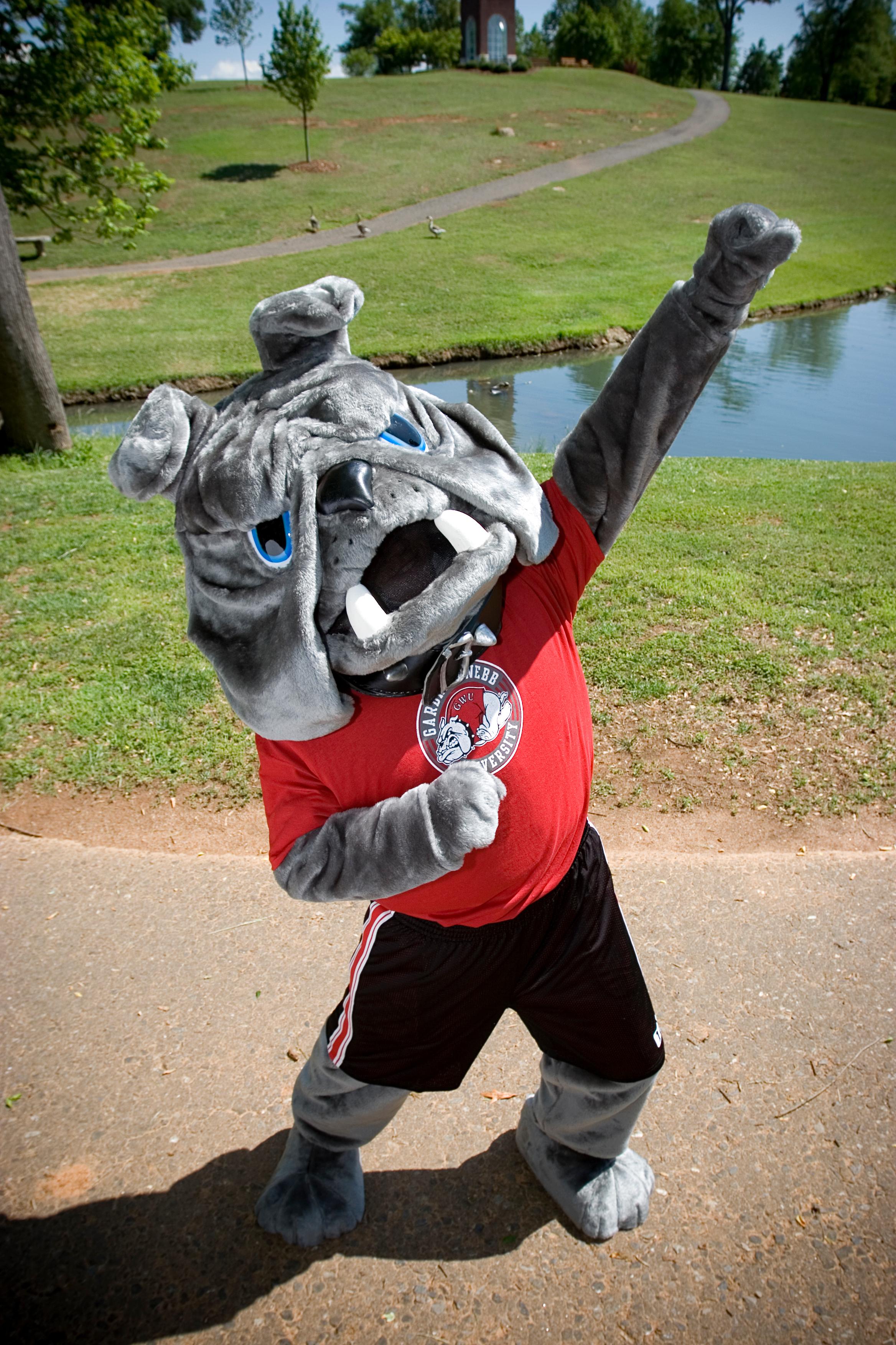 Mac the mascot in 2006.