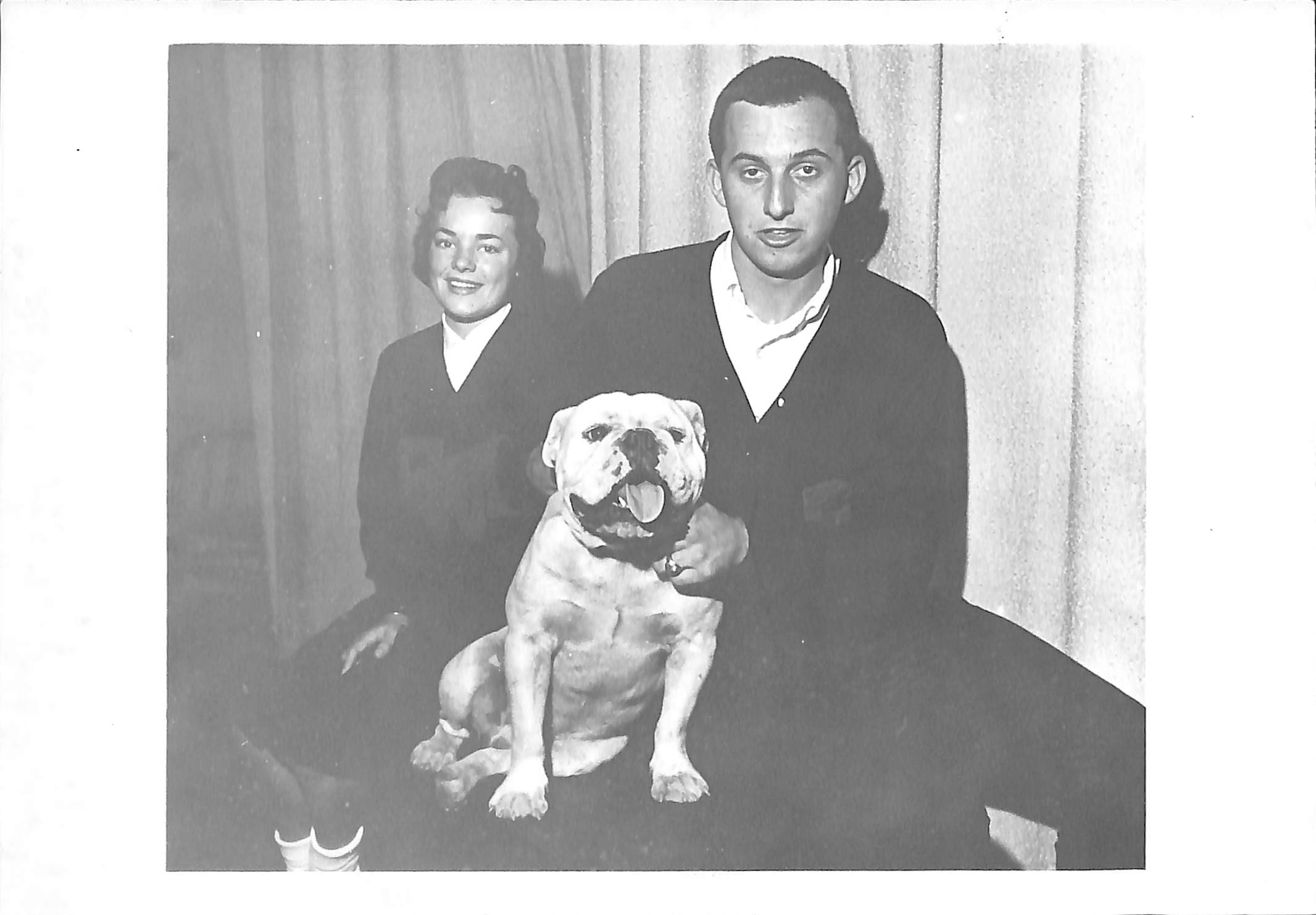 Victor I with Doris Winchester and Rob Weir, 1963.