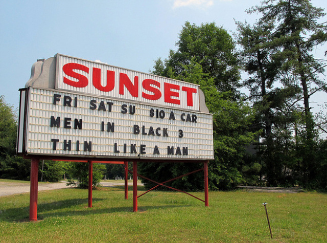 1. Sunset Drive-In Movie Theater - Drive-In movie theaters are rare nowadays! Your chance to experience this is right down the street. The 2019 Season opens on April 19 - it's not too late to grab your friends and head down to the drive-in for a movie under the stars.
