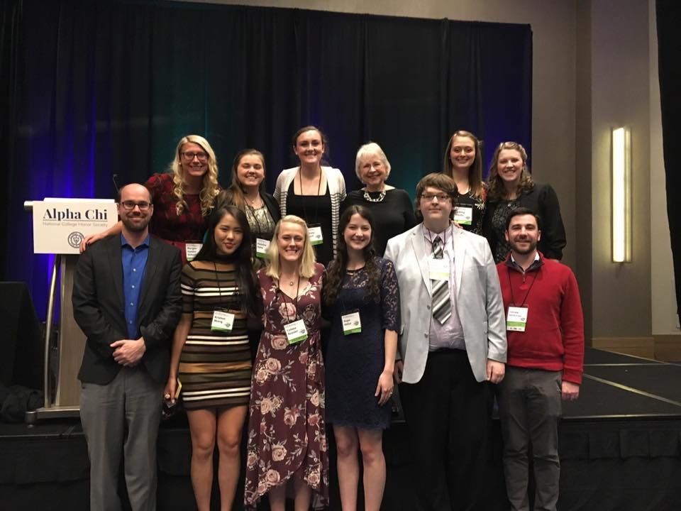 Group photo of GWU students, faculty, and alumni that attended the 2019 Alpha Chi National Convention in Cleveland, Ohio this year! I'm very thankful and blessed to be a part of a university that strongly encourages academic research and facilitates opportunities for students to travel and share their academic findings also!