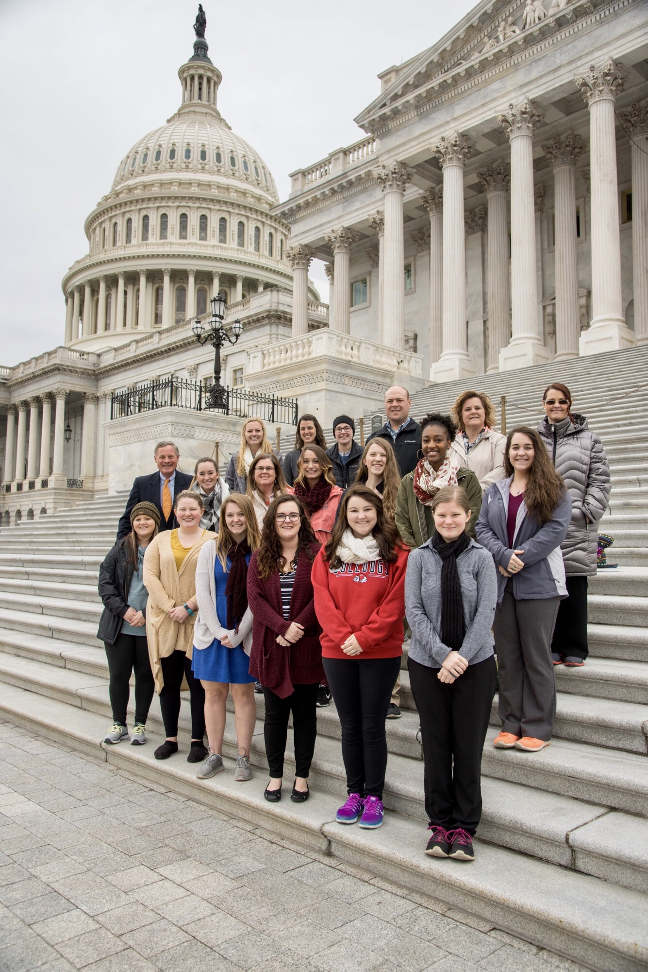 GWU SNCAE, a group of student teachers, took on Washington, D.C. my sophomore year. We toured the Capitol, memorials, museums, and I had the opportunity to do this alongside great people.