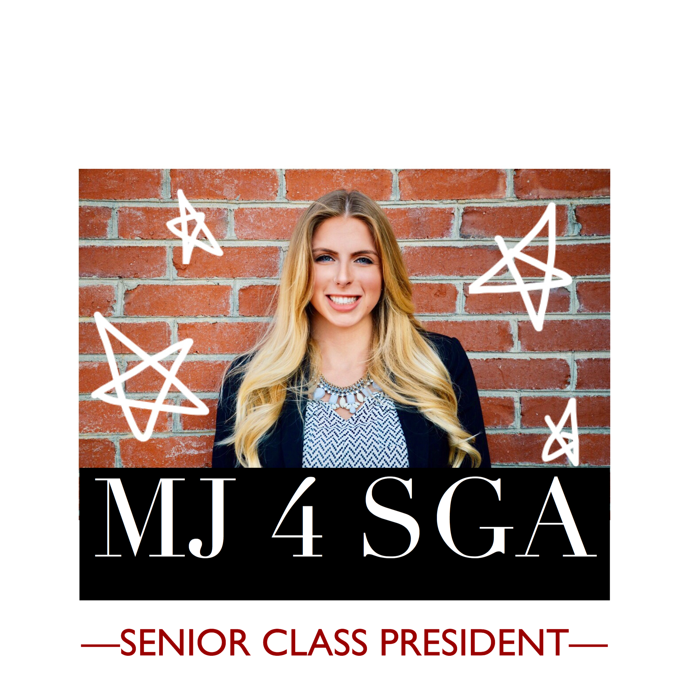 Miranda's campaign poster for the election.