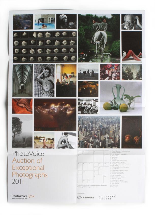 PhotoVoice auction catalogue