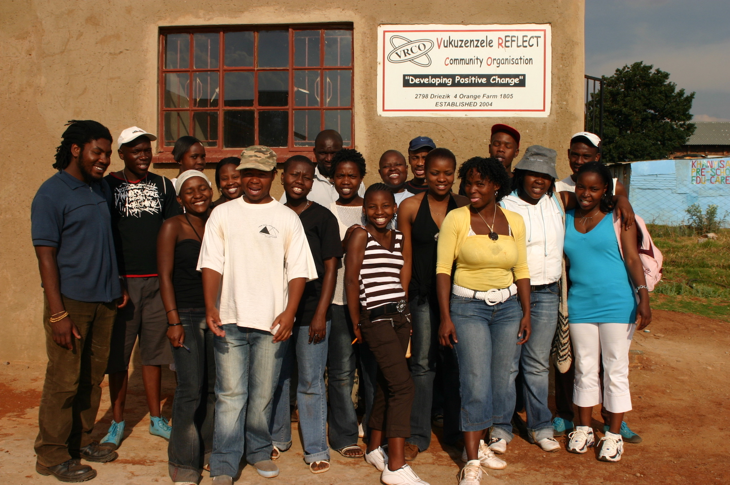 The Youth Photo Reflect participants, Orange Farm