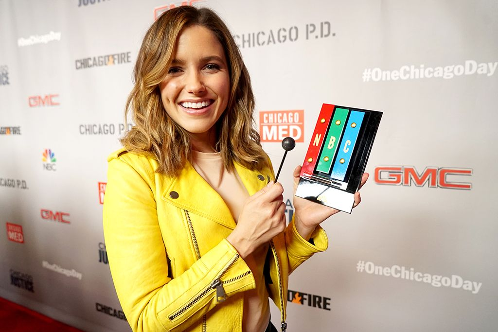 Hey Yahoo! @SophiaBush here. I am taking over today from Chicago, where we are celebrating #OneChicago Day. We've got the casts from all 4 Chicago shows here, and we are doing crazy demonstrations of fire, car wreck stunts, and more! We hope you enjoy the day! xx SB #ChicagoPD #Lindslay