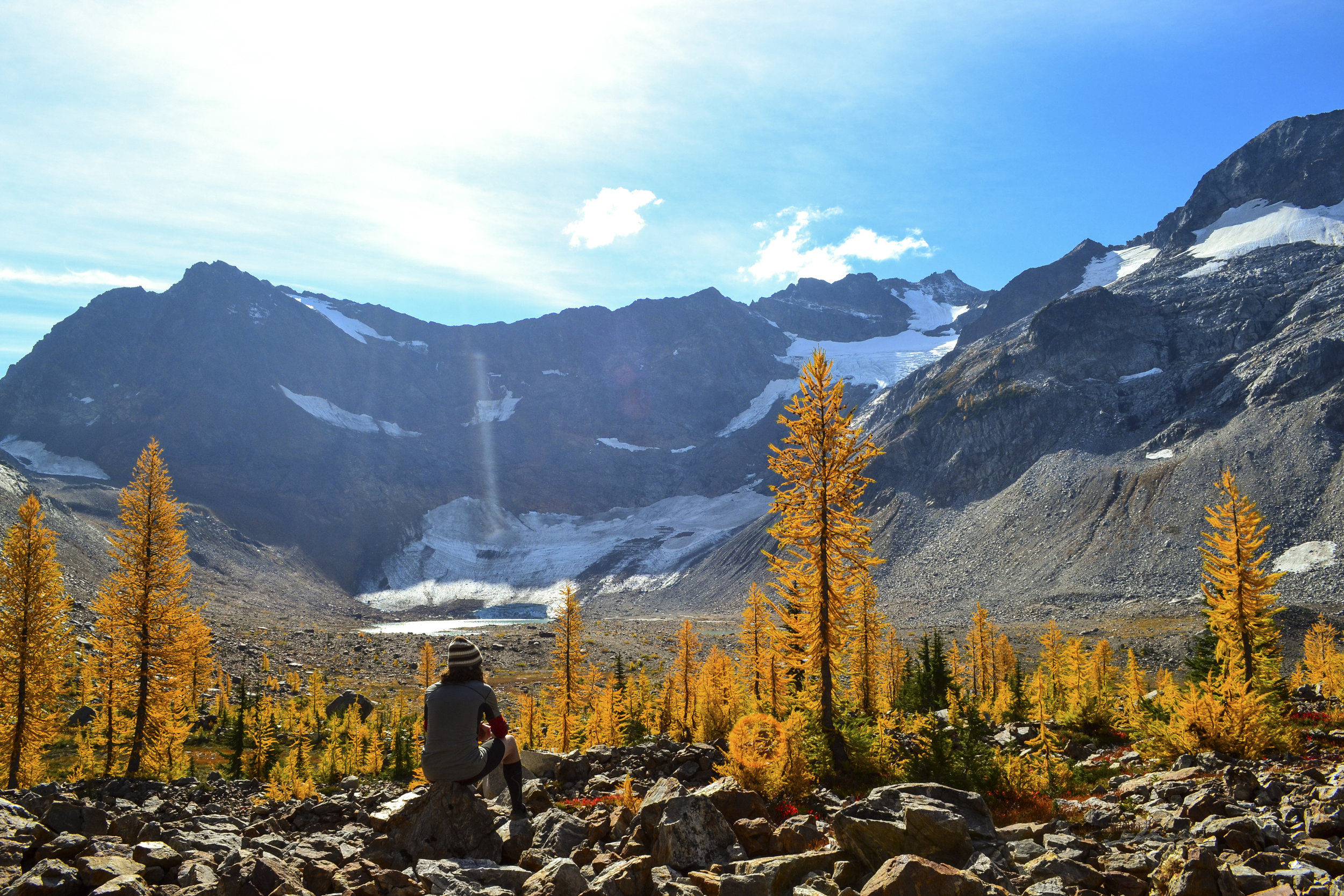 Autumn camping and hiking in the Cascades. Photo by Jacob Hall.