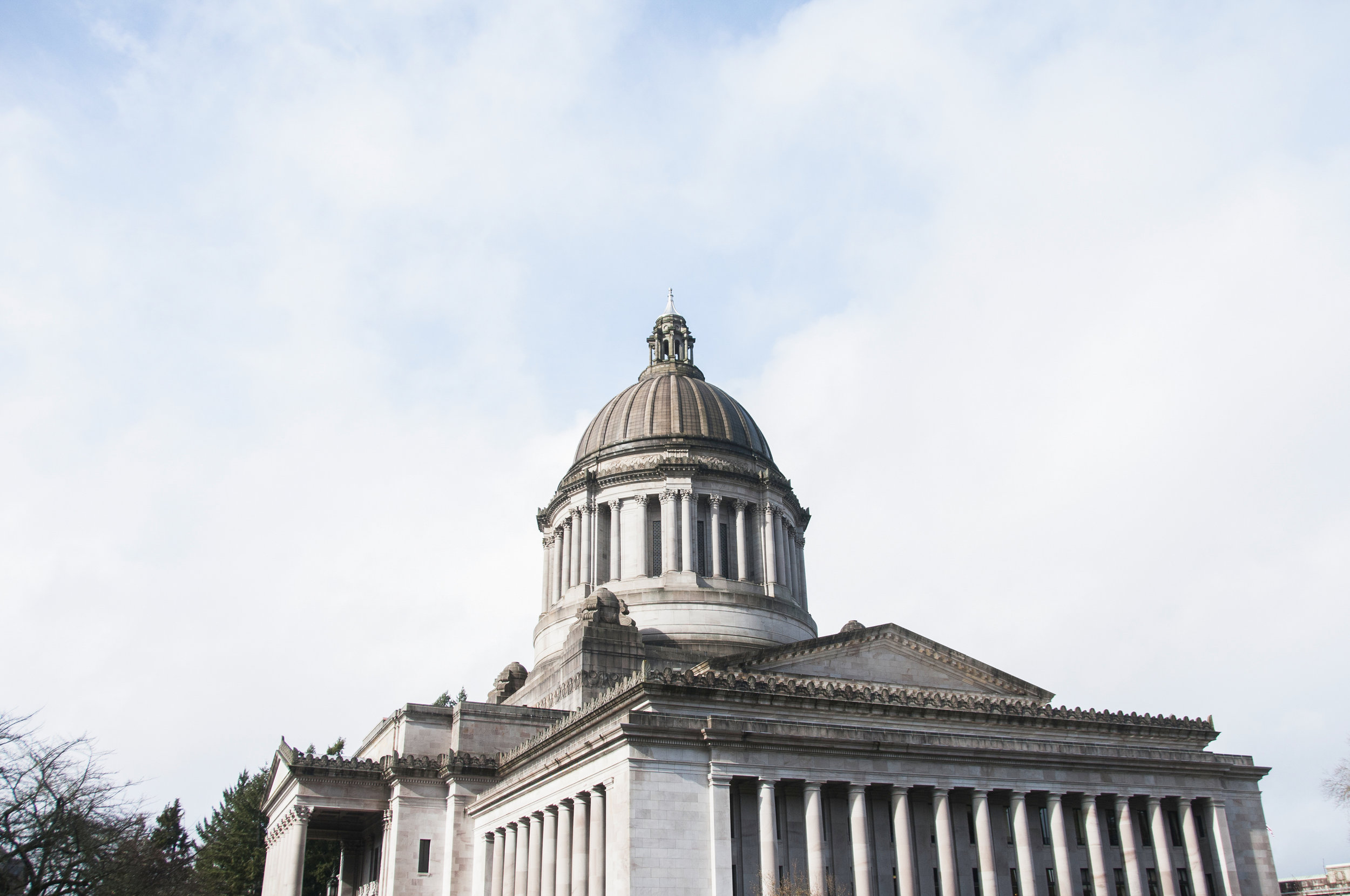 The Washington State Capitol building. Photo by Hannah Letinich.