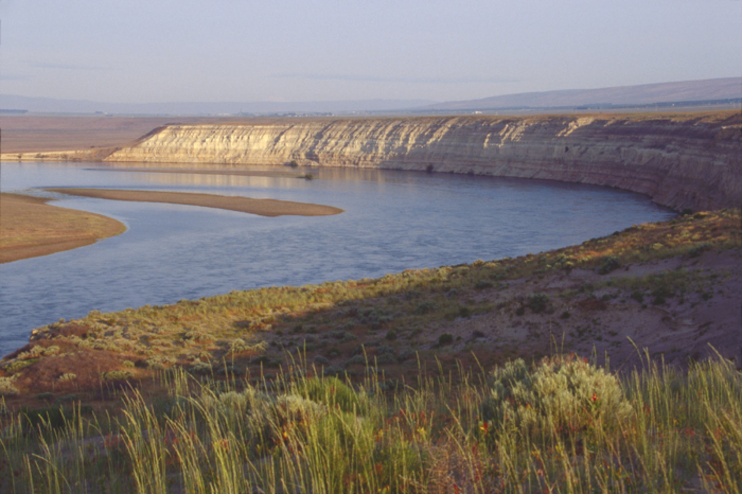 The White Bluffs at the Hanford Reach National Monument. Photo by Joel Rogers.