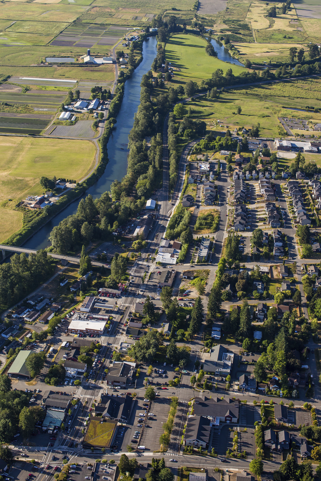 Complex and varied land uses in the Snohomish River basin call for collaborative partnerships that bring many voices to the table. Photo by Paul Joseph Brown.