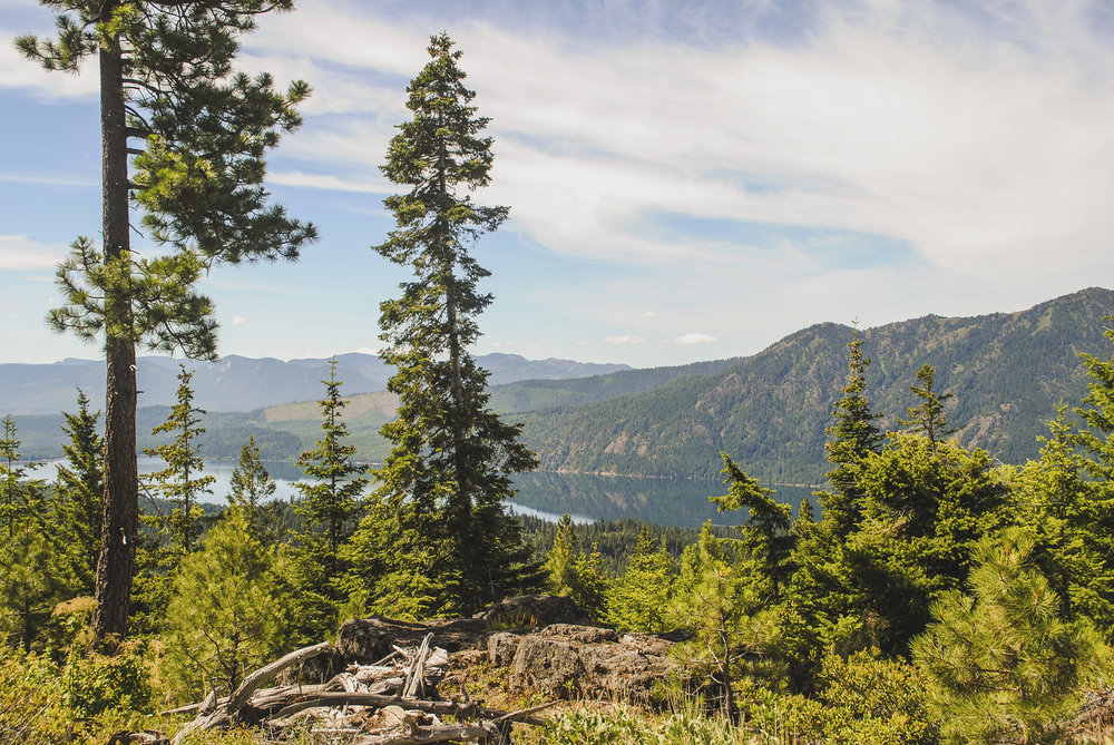 Lake Cle Elum is in Wenatchee National Forest, Kittitas County, where we're working to protect acres of forestland along the Pacific Crest Trail with support from LWCF. Photo by Zoe van Duivenbode