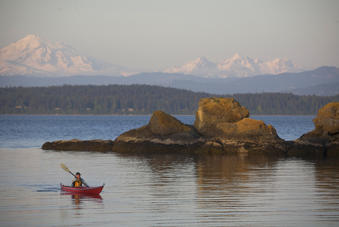 The San Juan Islands offer world-class recreation, thanks in part to access and protection by LWCF. Photo by Joel Rogers.