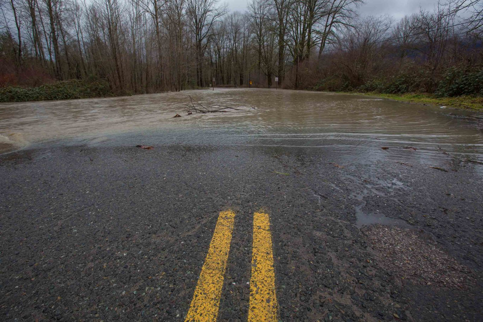 Snoqualmie valley flooding, January 2015. Photo by The Nature Conservancy.